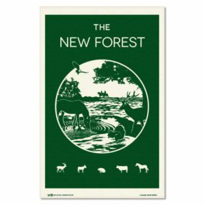 The New Forest Tea Towel