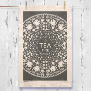 Time For Tea Tea Towel.