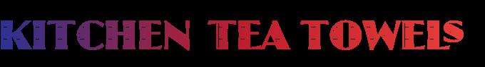 kitchen tea towels logo
